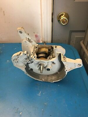 Stihl TS420 Concrete Saw Crankcase Assembly With Crank