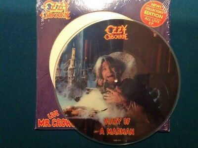 """OZZY OSBOURNE 12"""" Picture Live - DIARY OF A MADMAN Org 1.Press 1982"""