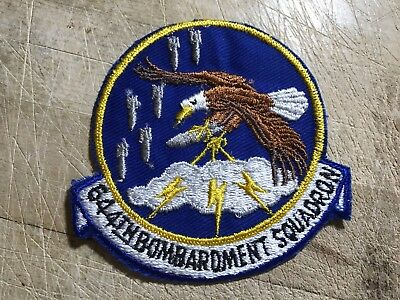 WWII/WW2/Cold War? US AIR FORCE PATCH-644th Bombardment Squadron-ORIGINAL USAF!