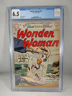 Wonder Woman #85 1956 CGC 6.5 - 1st Silver Age Wonder Woman - Irv Novick Cover