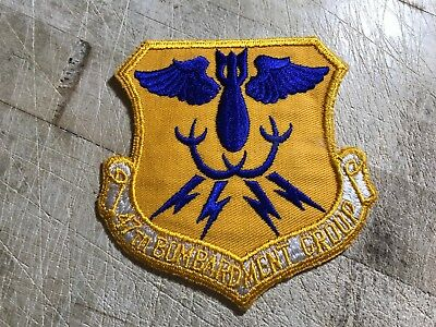 WWII/WW2/Post? US AIR FORCE PATCH-47th Bombardment Group-ORIGINAL USAF BEAUTY!