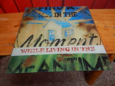 Rodney White In The Meantime Officially Licensed 12x12 Glass Wall Decor-NICE!