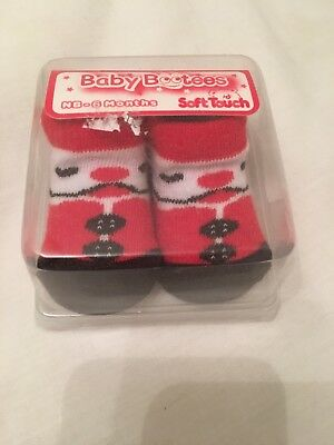 Baby Booties 0-6 Months