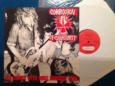 CORROSION OF CONFORMITY- SIX SONGS WHIT MIKE Org 1.Press Caroline 1988