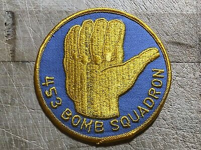 WWII/WW2/Post? US AIR FORCE PATCH-453rd Bomb Squadron-ORIGINAL USAF BEAUTY!