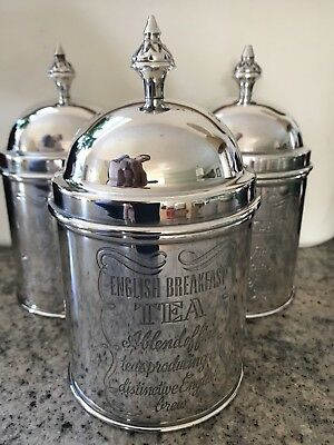 Brissi Silver-Plated Tea Caddy