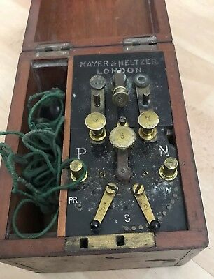 Meyer & Meltzer Antique Electric Wet Battery Shock Therapy Quack Medical Device