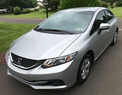 2015 Honda Civic LX Honda Civic LX by first owner 2015 only 23900 miles Silver Clean Title