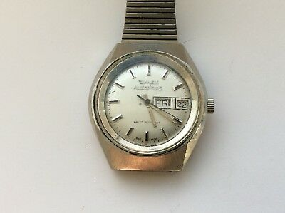 Vintage Mens Watch. Timex Automatic. Working