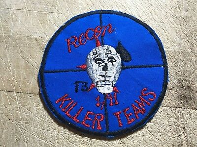 1960s/Vietnam? US ARMY PATCH-KILLER TEAMS 13 1/11 RECON-ORIGINAL BEAUTY!