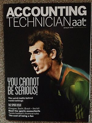 AAT Accounting Technician Magazine Jan/Feb 14 Andy Murray Sport Issue
