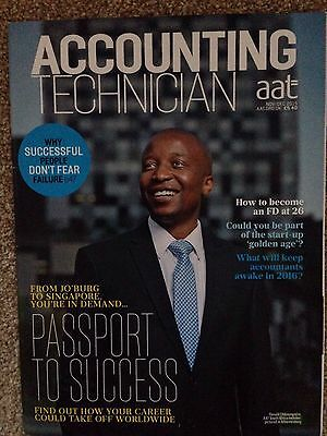 AAT Accounting Technician Magazine Nov/Dec 15 Passport To Success Issue