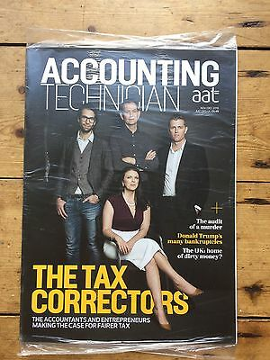 AAT Accounting Technician Magazine Nov/Dec 16 SEALED The Tax Correctors Issue