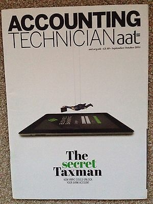 AAT Accounting Technician Magazine Sep/Oct 14 The Secret Taxman Issue