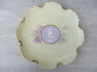 Antique Rosenthal Cameo porcelain plate with head of Mercury, 8 3/4""