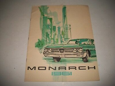 1961 Monarch Cdn  Sales Brochure