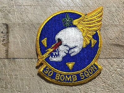WWII/WW2/Post? US AIR FORCE PATCH-30th Bomb Squadron-ORIGINAL USAF BEAUTY!