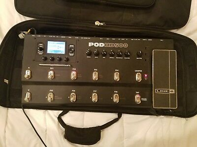 Line 6 POD HD500 Multi-Effects Guitar Effect Pedal with case