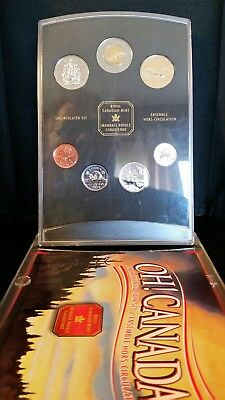 1999 OH! CANADA UNCIRCULATED COIN SET Royal Canadian Mint