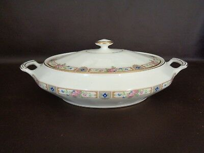 Vintage Edwin Knowles Covered Vegetable Dish (Cat.#5A083)