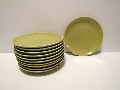 Russel Wright Iroquois Casual China Chartreuse Bread Plates (11)
