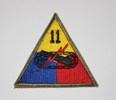 Authentic WWII U.S. Army 11th Armored Division Shoulder Insignia Patch