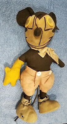 Rare 1930s Mickey Mouse Doll Disney Toy