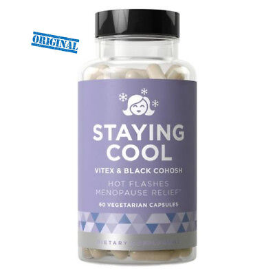 STAYING COOL Hot Flashes and Menopause Relief / Night Sweats, Mood Swings, Helps
