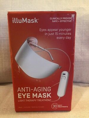 Illumask For Eyes Anti Aging Mask Light Therapy New In Sealed Box