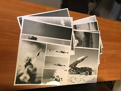 10 Nike Series Missile Official Army Firing Photos White Sands Missile Range Nm