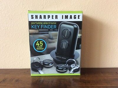 New Sharper Image Portable Electronic Key Finder