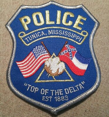 MS Tunica Mississippi Police Patch