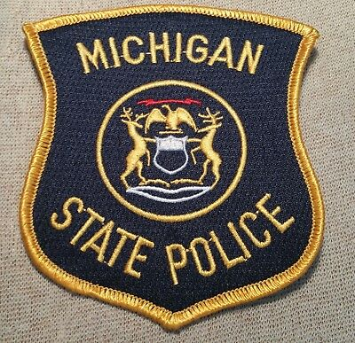 MI Michigan State Police Patch