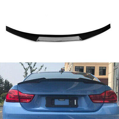 For BMW 4-Series F36 Gran Coupe 13-18 Carbon Fiber Rear Boot Spoiler Wing Lip