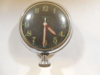 Vintage, Smiths 8 Days, Manual Wind Clock for Cars or Travel