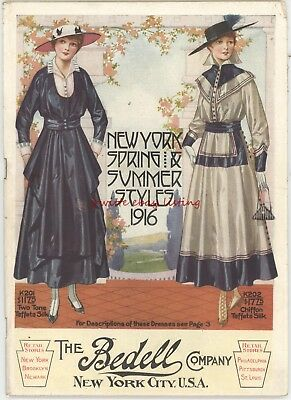 The Bedell Co. Catalog - 1916 - New York Spring & Summer Clothing Styles