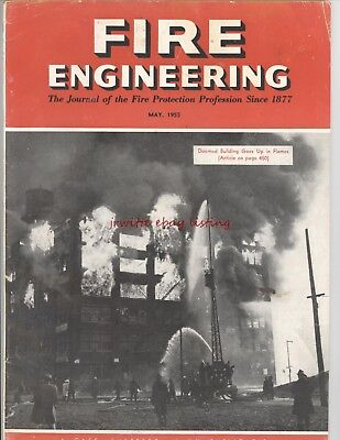 Fire Engineering Magazines - May & October, 1955