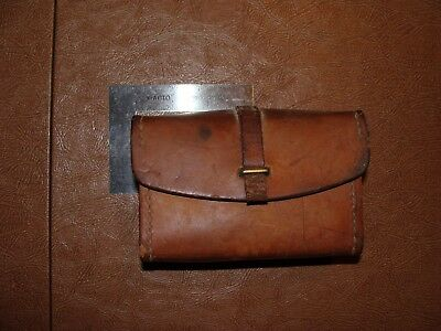 Vintage Leather Ammunition Pouch
