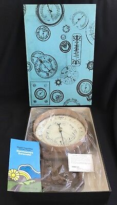 Vintage 1979 Taylor Concord Wall Barometer Temperature 6424 Mint In Box!