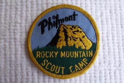 Bsa Philmont Patch Rodky Mountain Scout Camp Tooth Of Time Old Logo