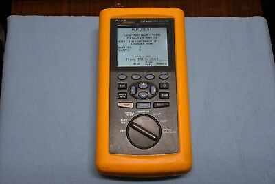 Fluke Networks DSP-4300 Good Working Condition