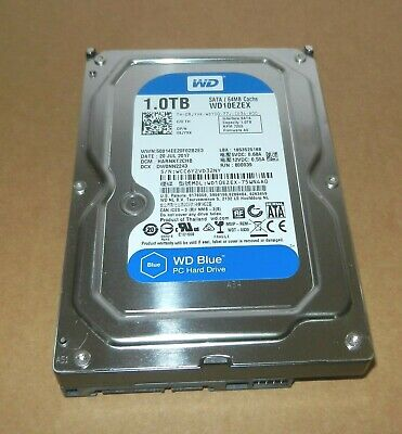 "Western Digital WD Caviar Blue WD10EZEX 1 TB Internal 7200 RPM 3.5"" Hard Drive"