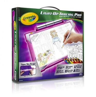 Crayola Light-up Tracing Pad Pink, Coloring Board for Kids, Gift, Toys...