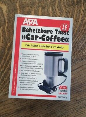 "Beheizbare Tasse ""Car Coffee"" 12 Volt Thermobecher"