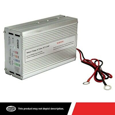 12V DC/8 AMP On Board Battery Charger with Battery/Alternator Condition Tester