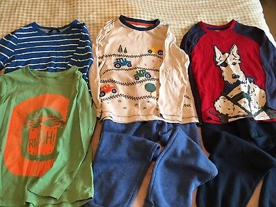 Boys Bundle 5-6 Tshirts & Joggers Jogging Bottoms Casual
