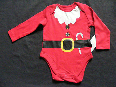 F&f Baby Girls Boys Unisex Christmas Bodysuit Vest Top. Up To 3 Months New
