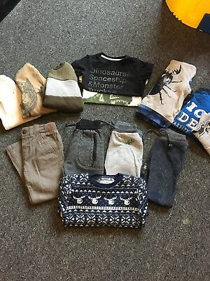Boys Winter Bundle - Jumpers/joggers/tshirts Size 2-3 Years Mostly Next