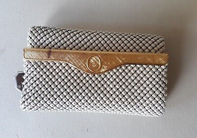 Oroton Mesh & Leather Key Case - Made in West Germany - Vintage