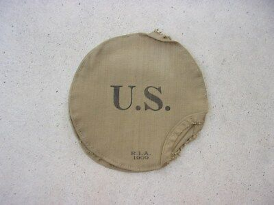 US Army M1878 Canteen Cover--Unused--R.I.A. 1909 Date